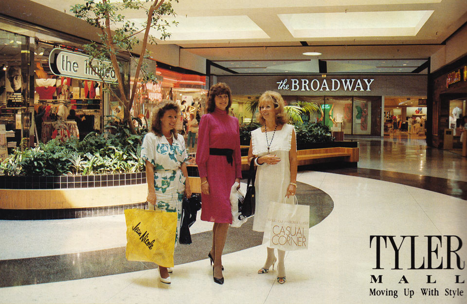 Then & Now - Galleria at Tyler - Raincross Square