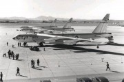 Circa 1950s - B-52s on the March tarmac