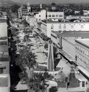 1966/67 - Main Street Pedestrian Mall - view north from Tenth*