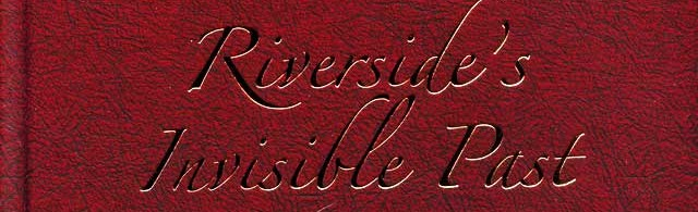 Bookshelf: Riverside's Invisible Past