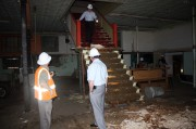 2011 - Rickety stairs to level two