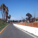 2012 - Barriers along Central Avenue offramp