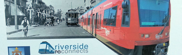 Is streetcar service in Riverside's 'reconnected' future?