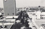 Circa 1976 - View north of pedestrian mall from City Hall (GRCC)