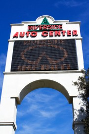 2009 - Center's second freeway sign (1991)